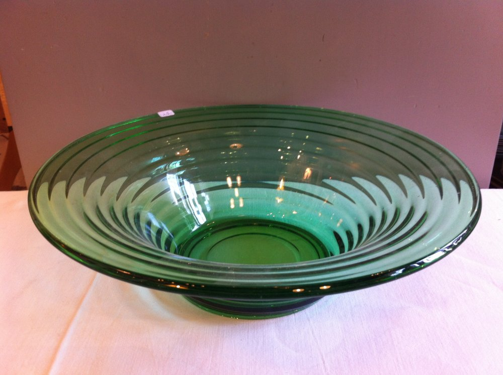 krukke glas grøn